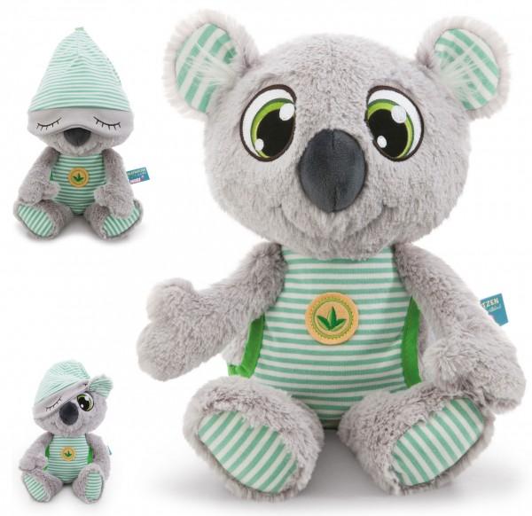 Kuscheltier Schlafmützen Koala Kappy 22 cm (Grau-Grün)