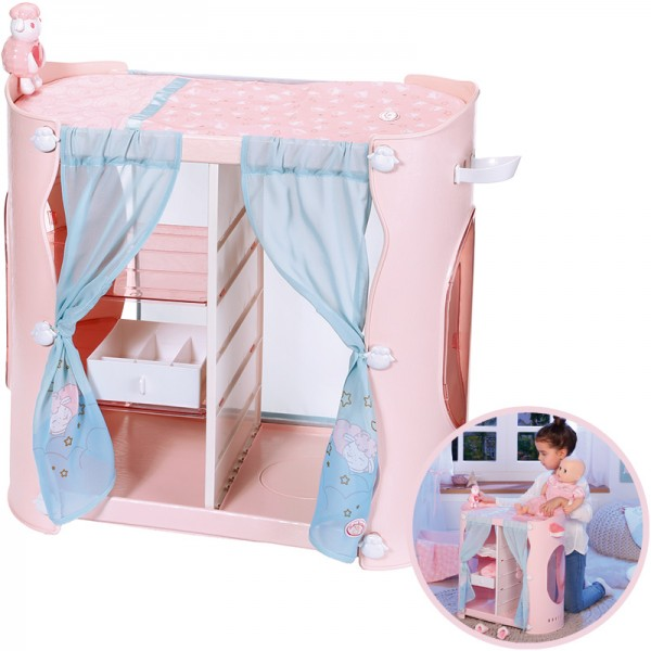 Baby Annabell Sweet Dreams 2-in-1 Schrank (Rosa)