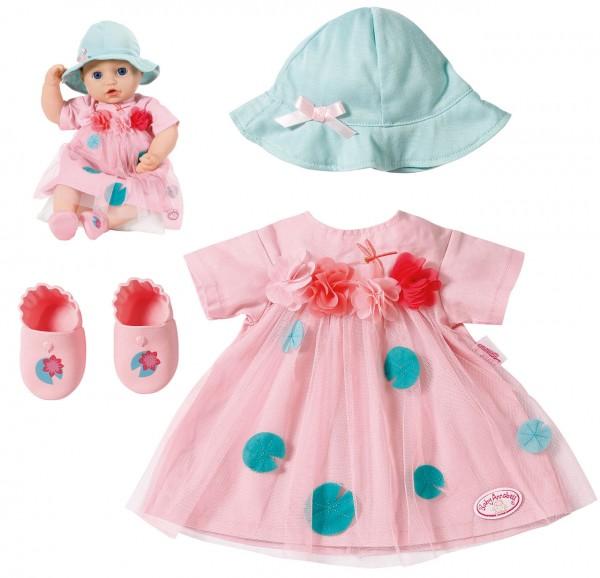 Baby Annabell Deluxe Sommer Set Sommerkleid Gr. 39 - 46 cm (Rosa-Mint)