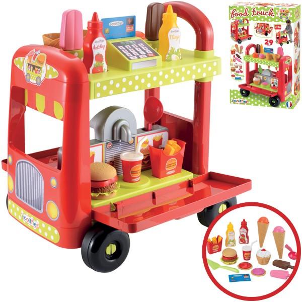 Food Truck Eis- und Hamburgerwagen