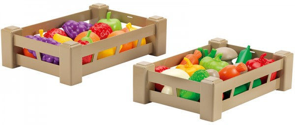 2 Große Kisten mit Obst & Gemüse