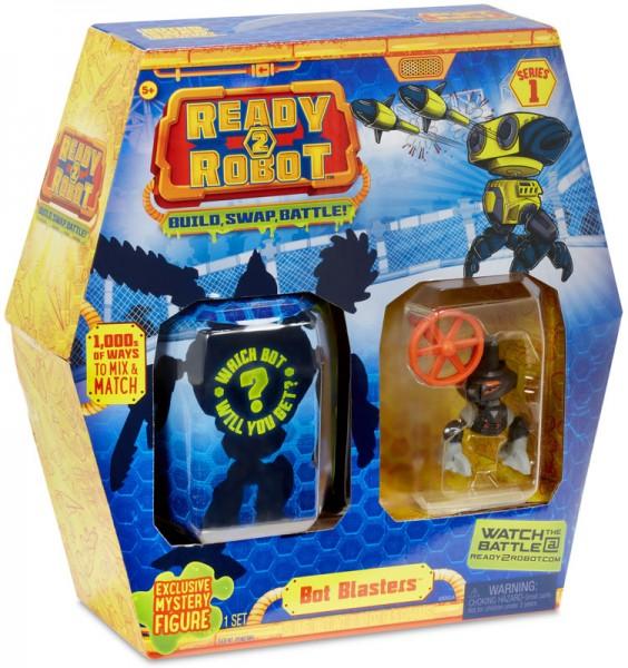 Ready2Robot Bot Blasters Pack 2 Serie 1 (Schwarz)