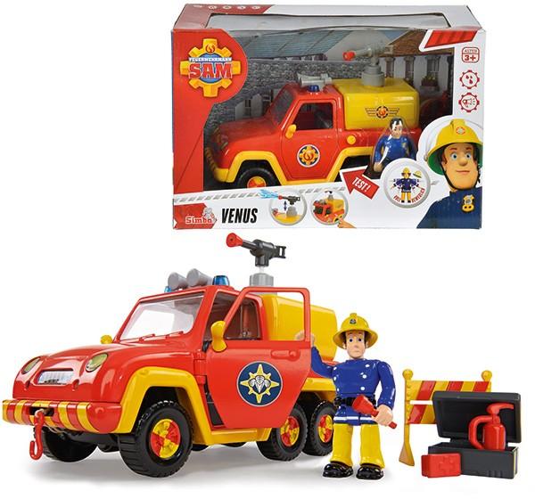 Feuerwehrmann Sam Venus Feuerwehrauto mit Figur