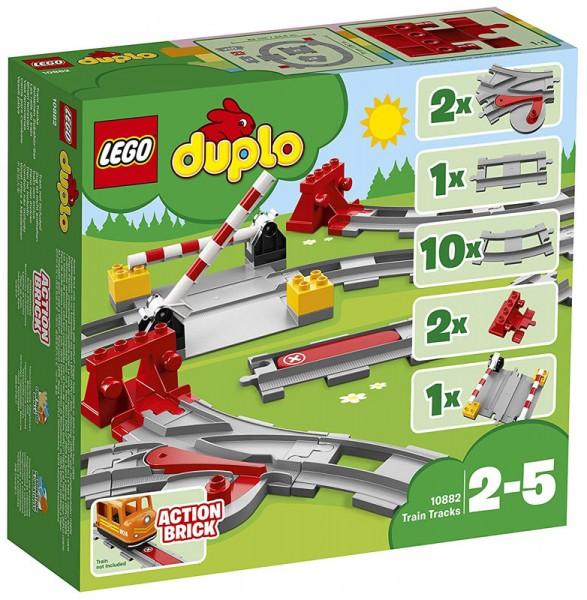 Duplo Eisenbahn Schienen Zubehör-Set 10882