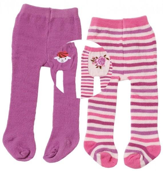 Baby Annabell Strumpfhosen-Set 40 - 46 cm (Violett-Pink)