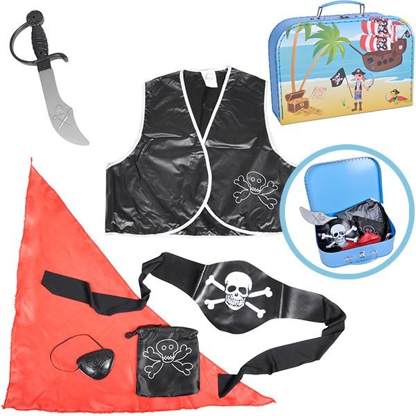 Spiel- und Verkleidungskoffer Pirat