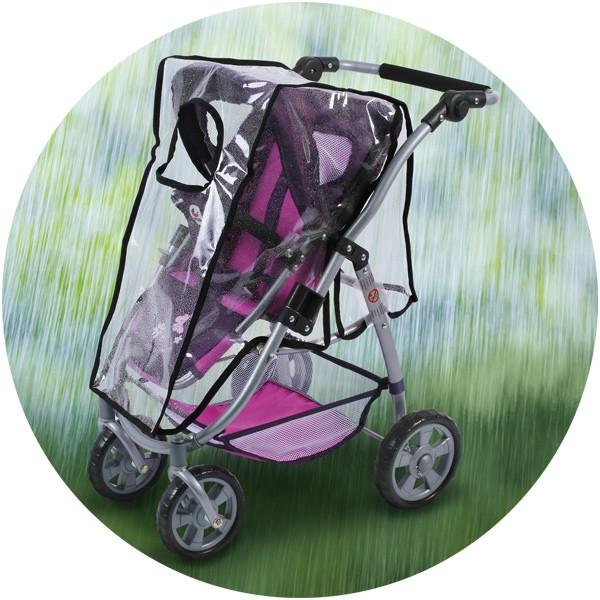 Regenverdeck für Sportsitz-Puppenwagen