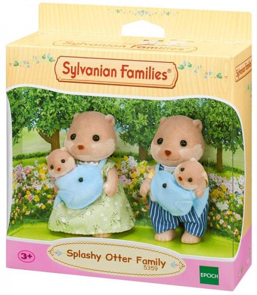Sylvanian Families Otter Familie Plansch