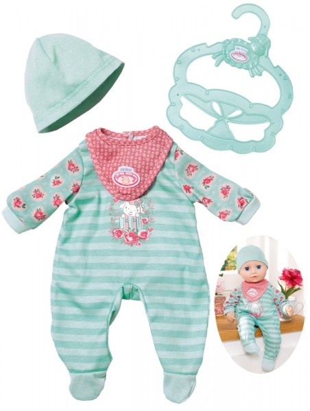 My First Baby Annabell Kuschel Outfit Einteiler 30 - 36 cm (Mint)