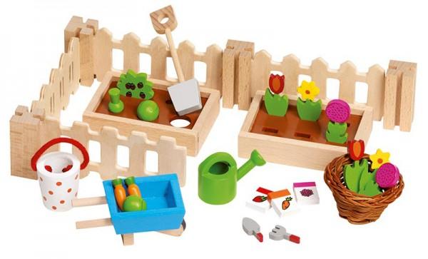 Puppenhaus-Accessoires Mein kleiner Vorgarten
