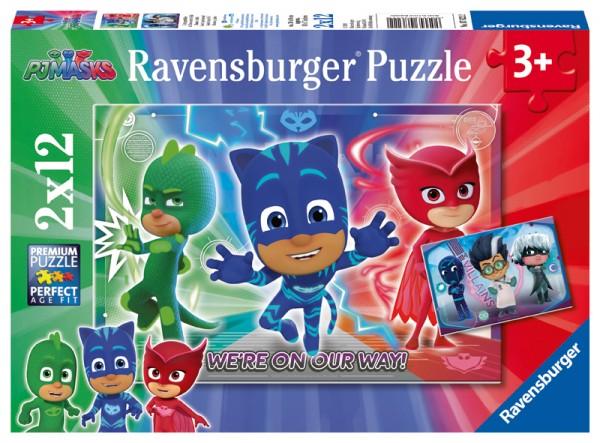 Kinderpuzzle PJ Masks Gut gegen Böse ab 3 Jahren