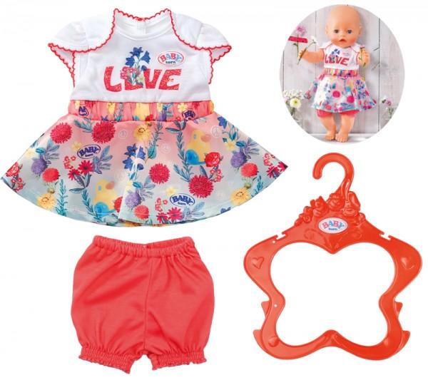 Baby Born Trend Babykleid 43 cm (Weiß-Bunt)