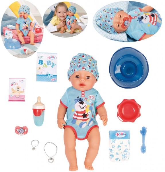 Baby Born Magic Boy Puppe 43 cm (Blau)