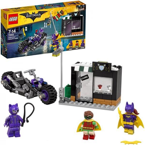 Batman Movie Catwoman Catcycle-Verfolgungsjagd 70902