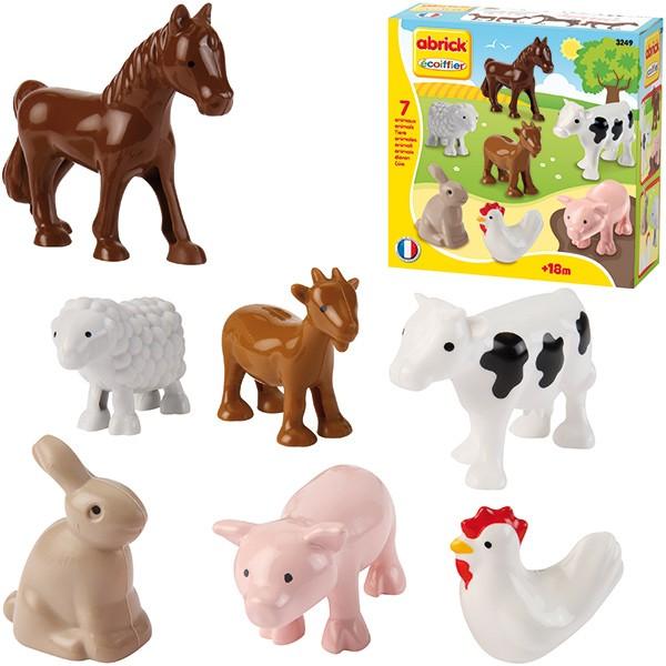 Abrick 7 Tiere für den Bauernhof