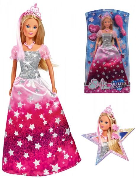 Steffi Love Glitter Princess (Pink-Silber)