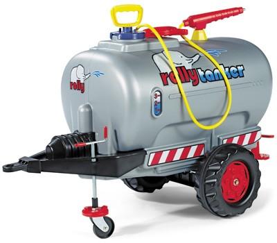 RollyTrailer Anhänger Tanker mit Pumpe und Spritze (Silber)