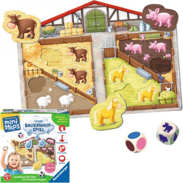 Ministeps Unser Bauernhof-Spiel