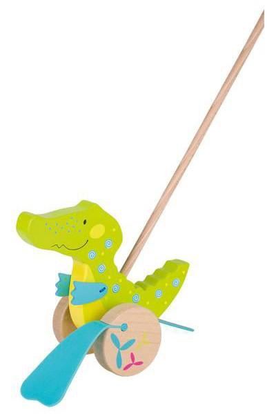 Schiebetier Susibelle Krokodil mit Watschelschlappen