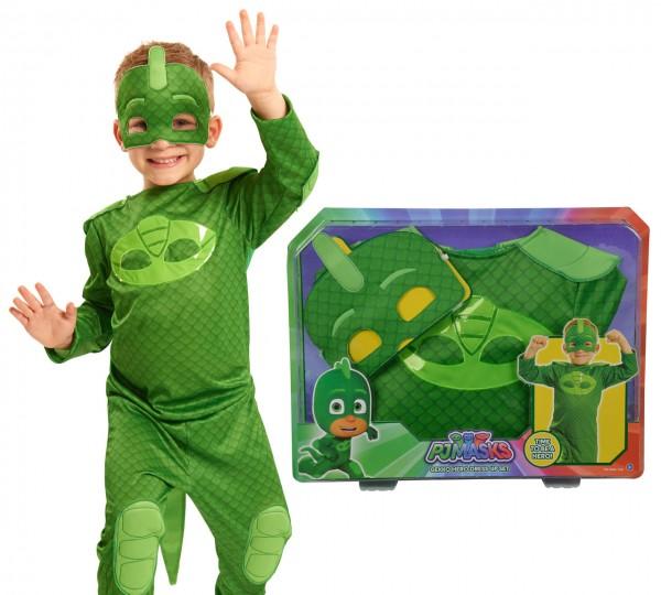 PJ Masks Kostüm Gecko Gr. 110 - 122 (Grün)