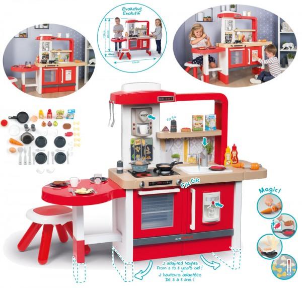 Mini Tefal Evo Grand Chef Spielküche mit Zubehör (Rot)