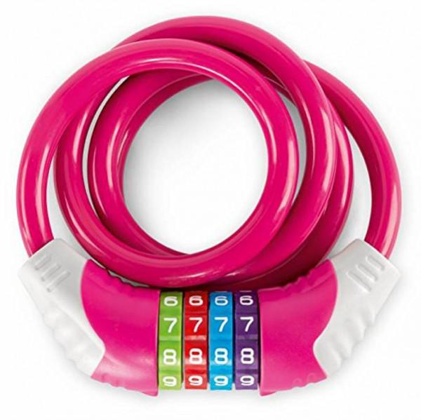 Kinder-Fahrradschloss KS 12 (Pink)