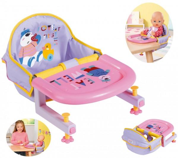 Baby Born Tischsitz (Rosa-Lila)