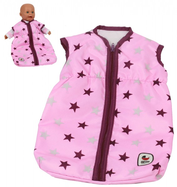 Puppenschlafsack (Stars Brombeere)