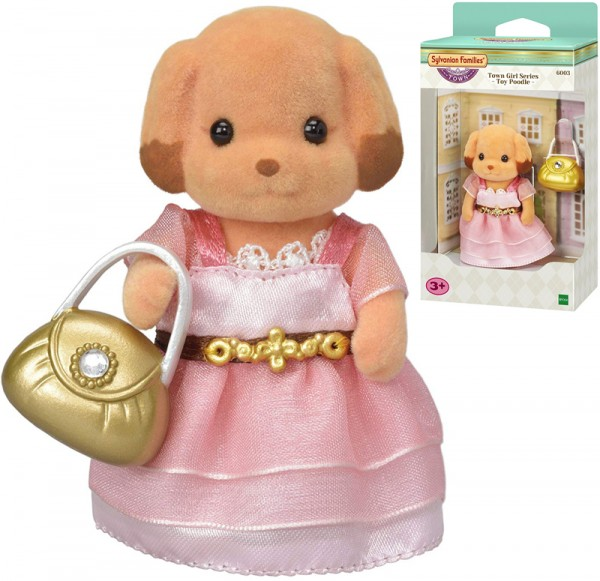 Sylvanian Families Town Series Toy-Pudel Laura Wuschl