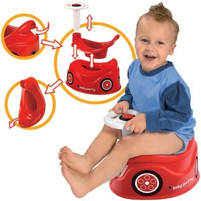 Baby-Potty Töpfchen im Bobby Car Design (Rot)