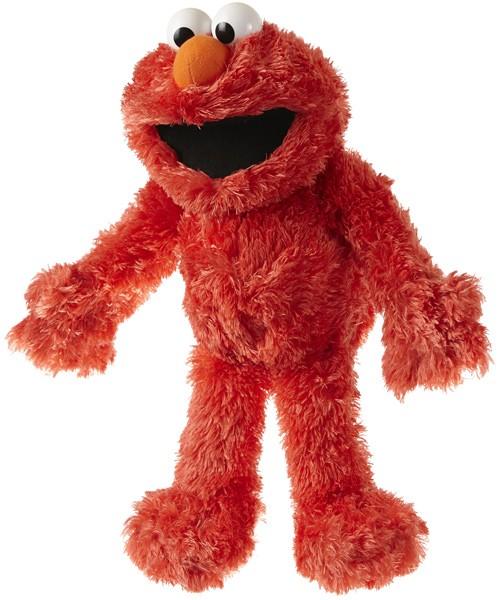 Sesamstrasse Plüschfigur & Handpuppe Elmo 35 cm (Rot)