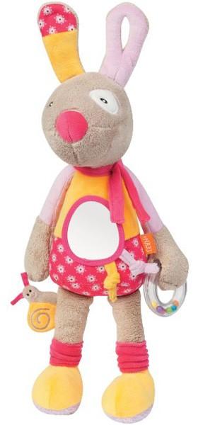 Bobby Bel Oeil Activity Spieltier Hund (Pink-Orange)