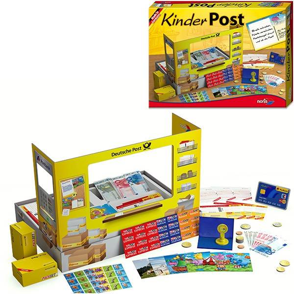 Meine Kinderpost Postamt mit Zubehör