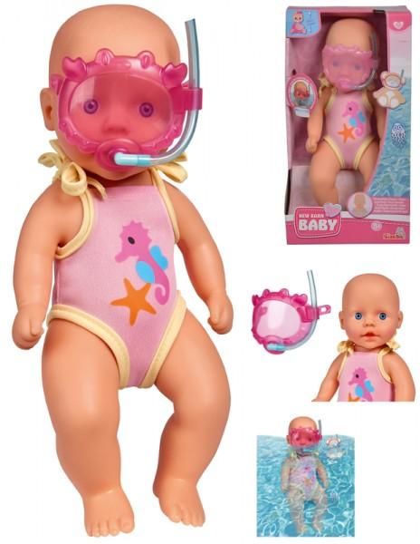 New Born Baby Badepuppe 30 cm