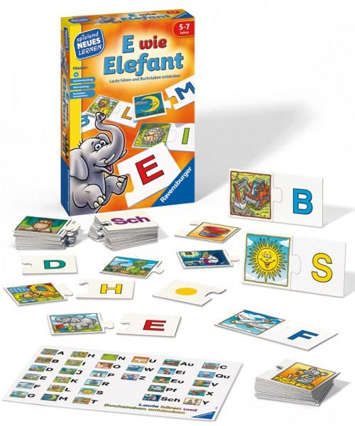 Kinderspiel E wie Elefant