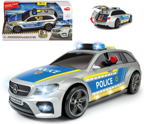 Polizeiauto Mercedes Benz E43 AMG Police mit Licht und Sound