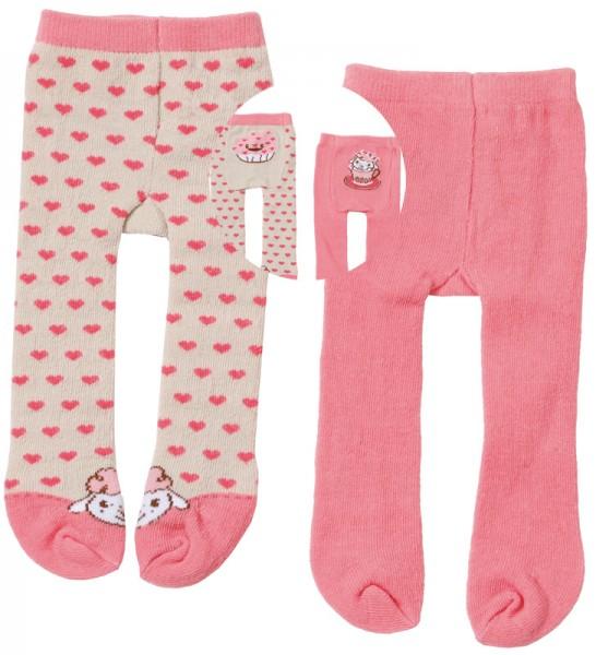 Baby Annabell Strumpfhosen-Set 40 - 46 cm (Rosa-Beige)