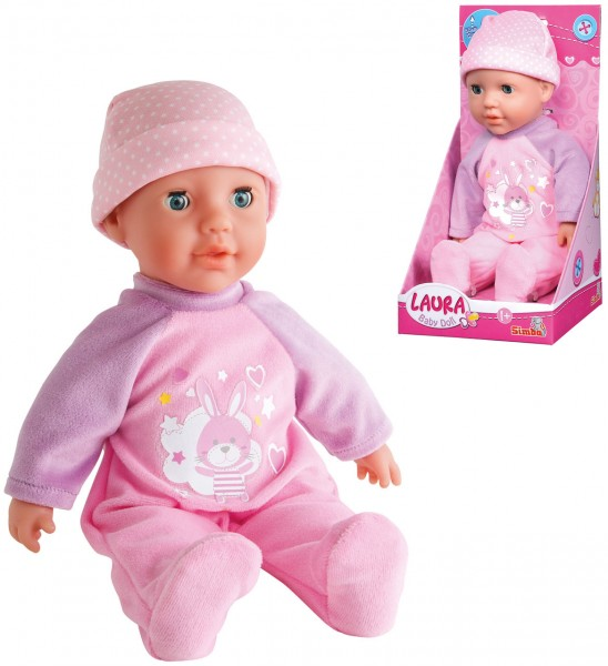 Babypuppe Laura My first Baby 30 cm (Rosa)