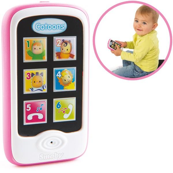 Cotoons Mein erstes Smartphone mit Aufnahmefunktion (Pink)