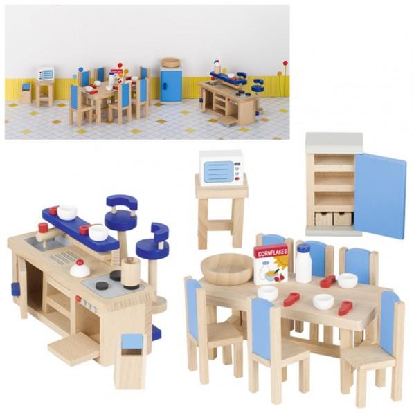 Puppenhausmöbel für die Küche