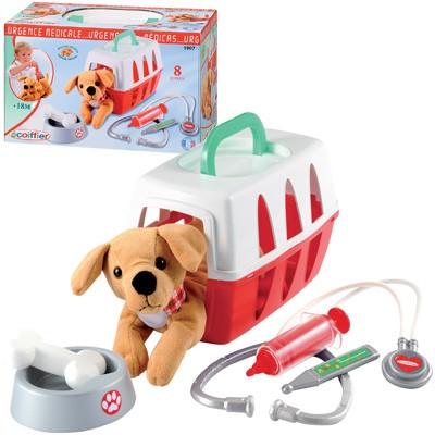 Tierarztkoffer mit Hund