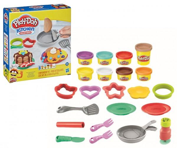 Play-Doh Pancake Party Set mit 8 Dosen Knete