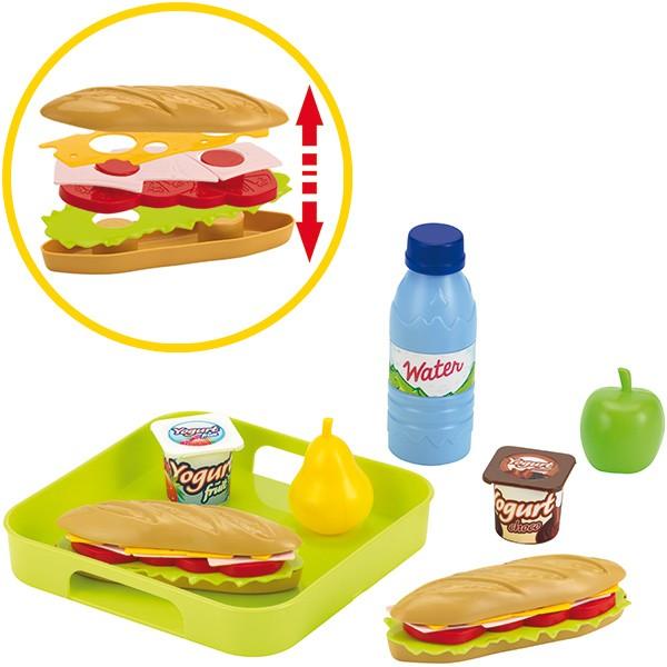 Sandwich Set mit Tablett