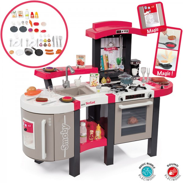 Mini Tefal Elektronische Superchef Bubble Küche (Rot)