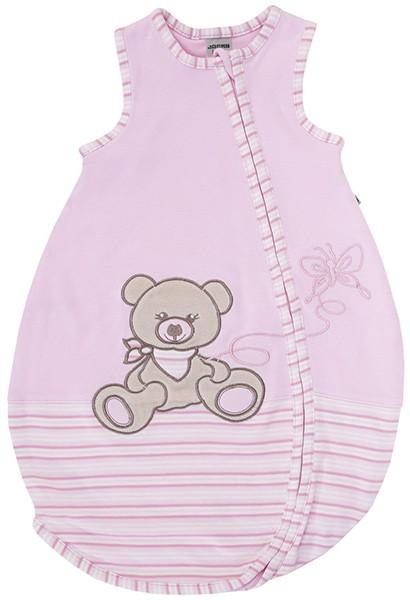 Sommerschlafsack Teddy Gr. 62/68 (Rosa-Ringel)