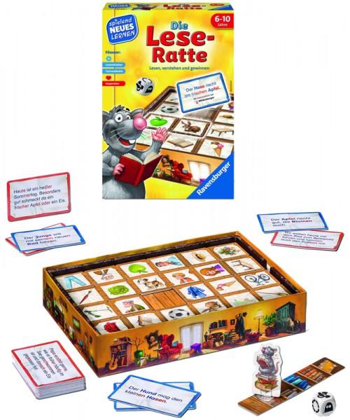 Kinderspiel Die Lese-Ratte