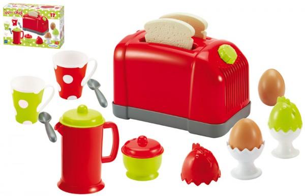 Großer Toaster mit Zubehör für Kinderküche