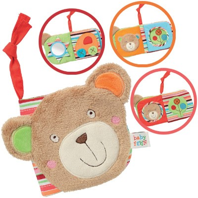 Oskar Babys erstes Bilderbuch Teddy (Braun)