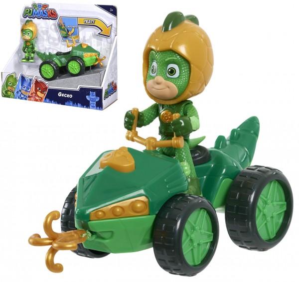 PJ Masks Quad Gecko mit Figur (Grün)