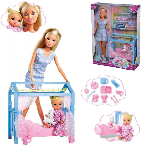 Steffi Love Sweet Dreams Steffi Puppe mit Baby